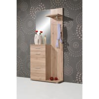GRADE A1 - Germania Compact Wardrobe in Oak
