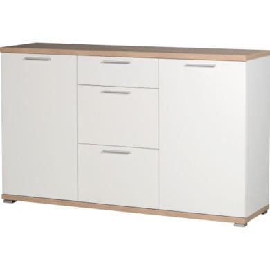 Germania Top Sideboard in White and Oak