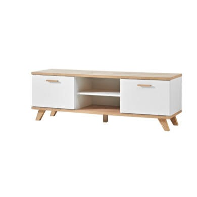 Germania Oslo White and Oak TV Cabinet
