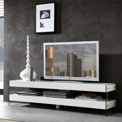 Germania Cube White Low TV Unit