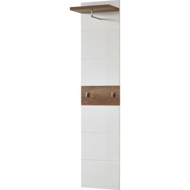 Germania Center Coat Stand in Oak and White
