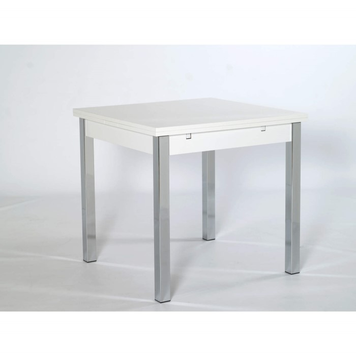 Furniture To Go Designa 80cm Square Extending Table In White Ash 3300221 1810af283