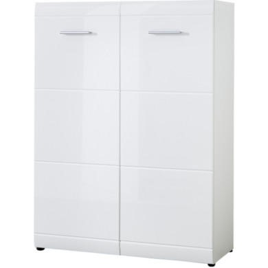 Germania Adana White High Gloss Shoe Cabinet
