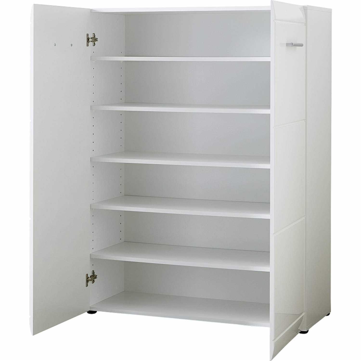 Germania Adana White High Gloss Shoe Cabinet   25 Pairs Part 39