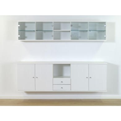 Furniture To Go Designa Display Wall Unit Set In White Ash