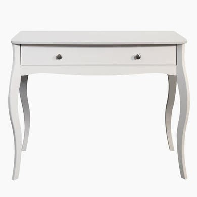 Chateaux White 1 Drawer Dressing Table