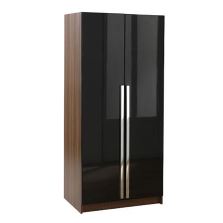 Las vegas high gloss 2 door wardrobe furniture123 for Furniture 123 wardrobes