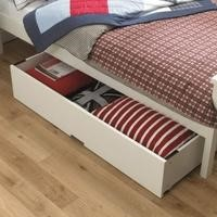 Bentley Designs Atlanta Underbed Drawer In White