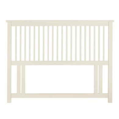 Bentley Designs Atlanta 122cm Small Double Headboard In White