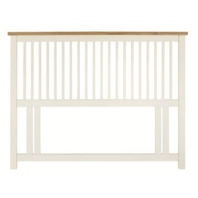 Bentley Designs Atalnta 122cm Headboard In White and Oak