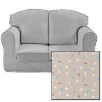 Just4Kidz Loose Cover Sofa in Little Dogs