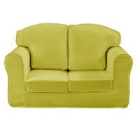 Just4Kidz Loose Cover Sofa in Green