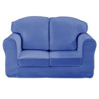 Just4Kidz Loose Cover Sofa in Blue