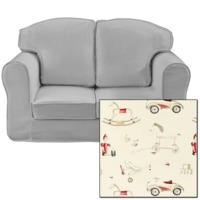 Just4Kidz Loose Cover Sofa in Classic Toys