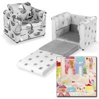 Just4Kidz Chair Bed in Happy Houses