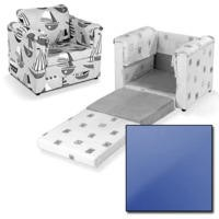 Just4Kidz Chair Bed in Blue
