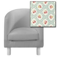 Just4Kidz Childrens Tub Chair - Floral Print