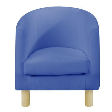 Just4Kidz Tub Chair in Blue