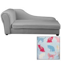 Just4Kidz Chaise Longue in Kitty Kat