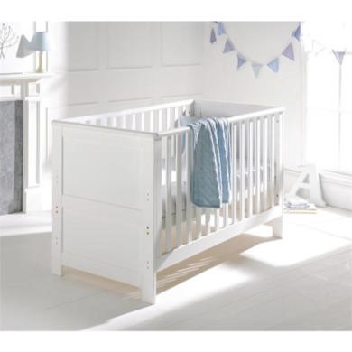 East Coast Boston White Cot Bed