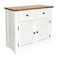 Loma living Shepperdine Ivory Compact 2 Door Sideboard