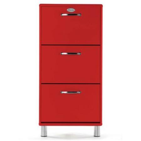 Tenzo Malibu Shoe Cabinet In Red Furniture123