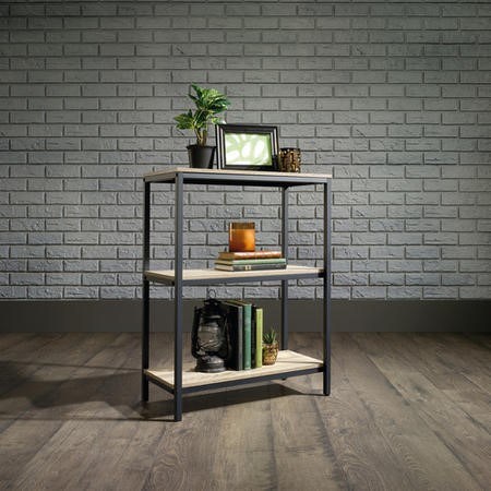 Teknik Office Industrial Style 2 Shelf Bookcase