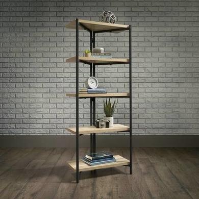 Teknik Office Industrial Style 4 Shelf Bookcase