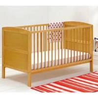 East Coast Hudson Cot Bed in Antique
