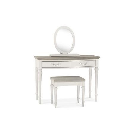 Bentley Designs Montreux Grey Washed Oak & Soft Grey Dressing Table