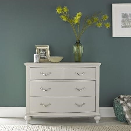 Bentley Designs Montreux Soft Grey 2+2 Drawer Chest