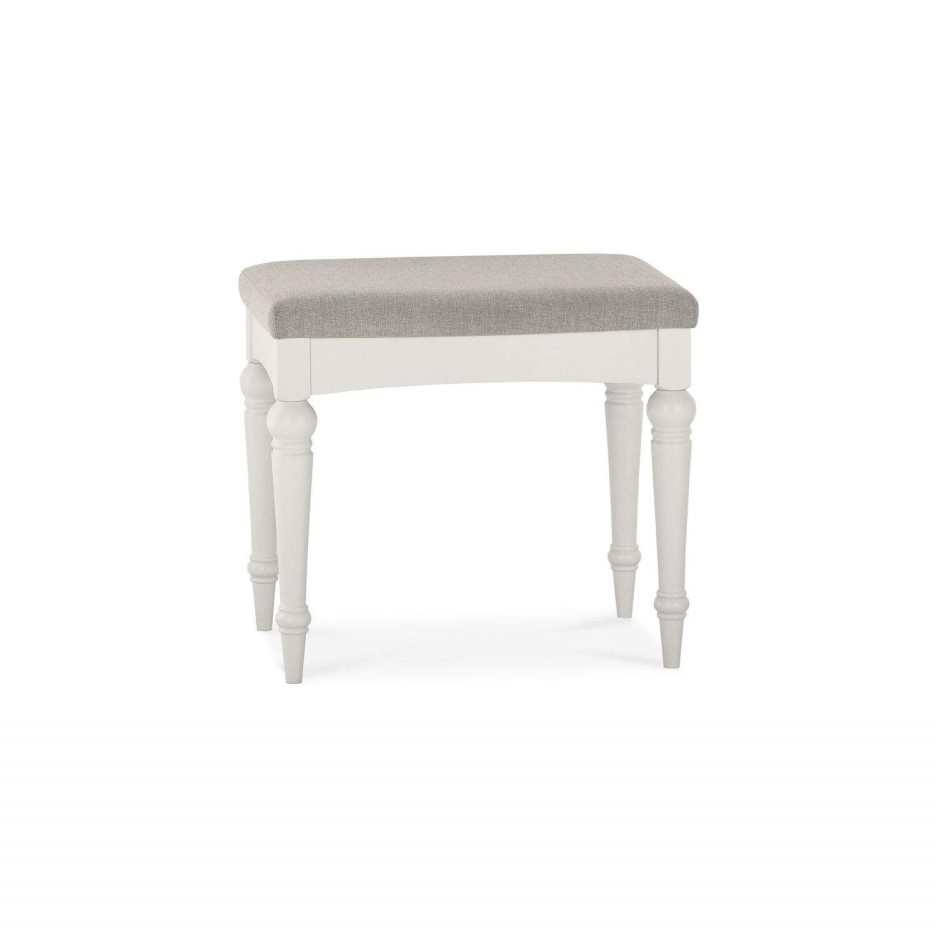 Bentley Designs Montreux Soft Grey Stool Furniture123