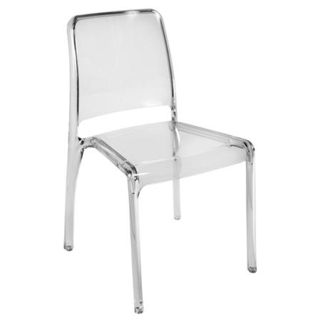 Teknik Office Clarity Clear Stacking Chair 4-Pack