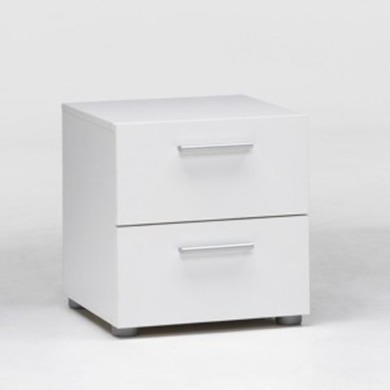 Billi Pepe 2 Drawer Bedside Table