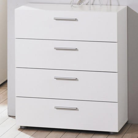 Billi Pepe 4 Drawer Chest In White Furniture123