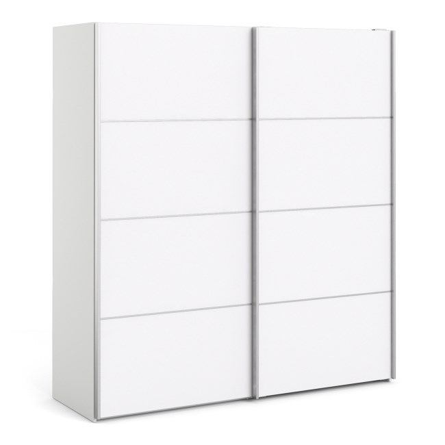 Verona White 2 Door Sliding Wardrobe - 180cm