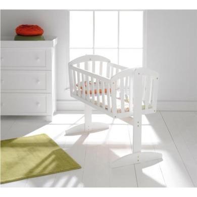 East Coast Vienna Swinging Crib in White