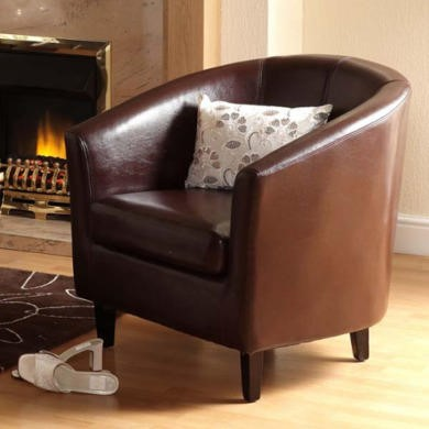 FOL067991 Seconique Tempo Tub Chair in Brown