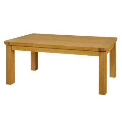 Clearance Ruskin Solid Oak Coffee Table Furniture123