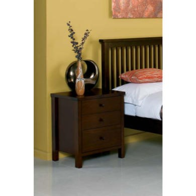 bentley designs atlantis deep oak bedside table furniture123. Black Bedroom Furniture Sets. Home Design Ideas