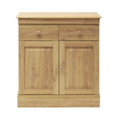 77181653/1/FOL062047 GRADE A3 - Caxton Furniture Driftwood 2 Door 2 Drawer Sideboard in Oak