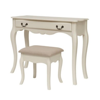 GRADE A3 - LPD Chantilly Dressing Table in Antique White