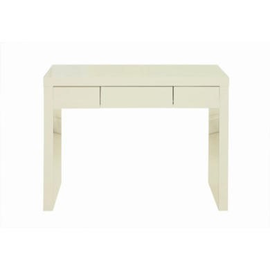 GRADE A2 - LPD Puro High Gloss Dressing Table in Cream