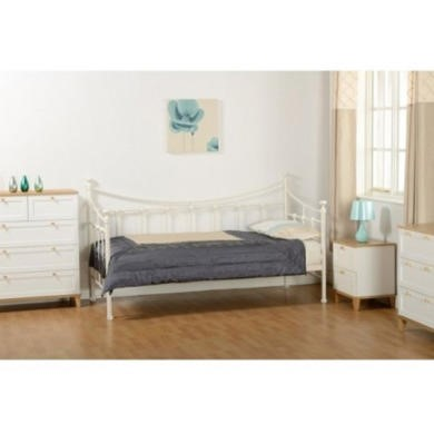 GRADE A3 - Seconique Torino Day Bed in Cream