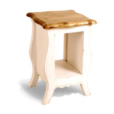 GRADE A1 - Signature North French Chic Monique Painted Bedside Table - antique white