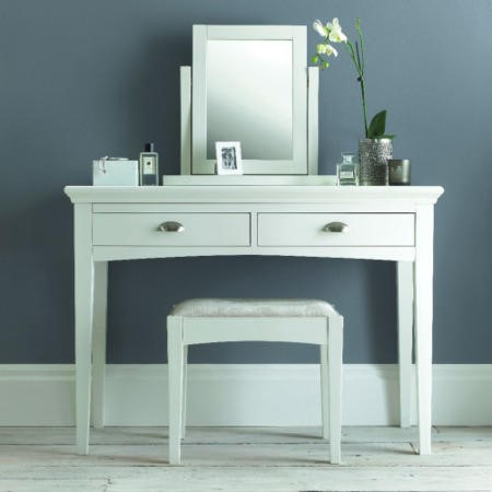 GRADE A2 - Bentley Designs Hampstead White Dressing Table