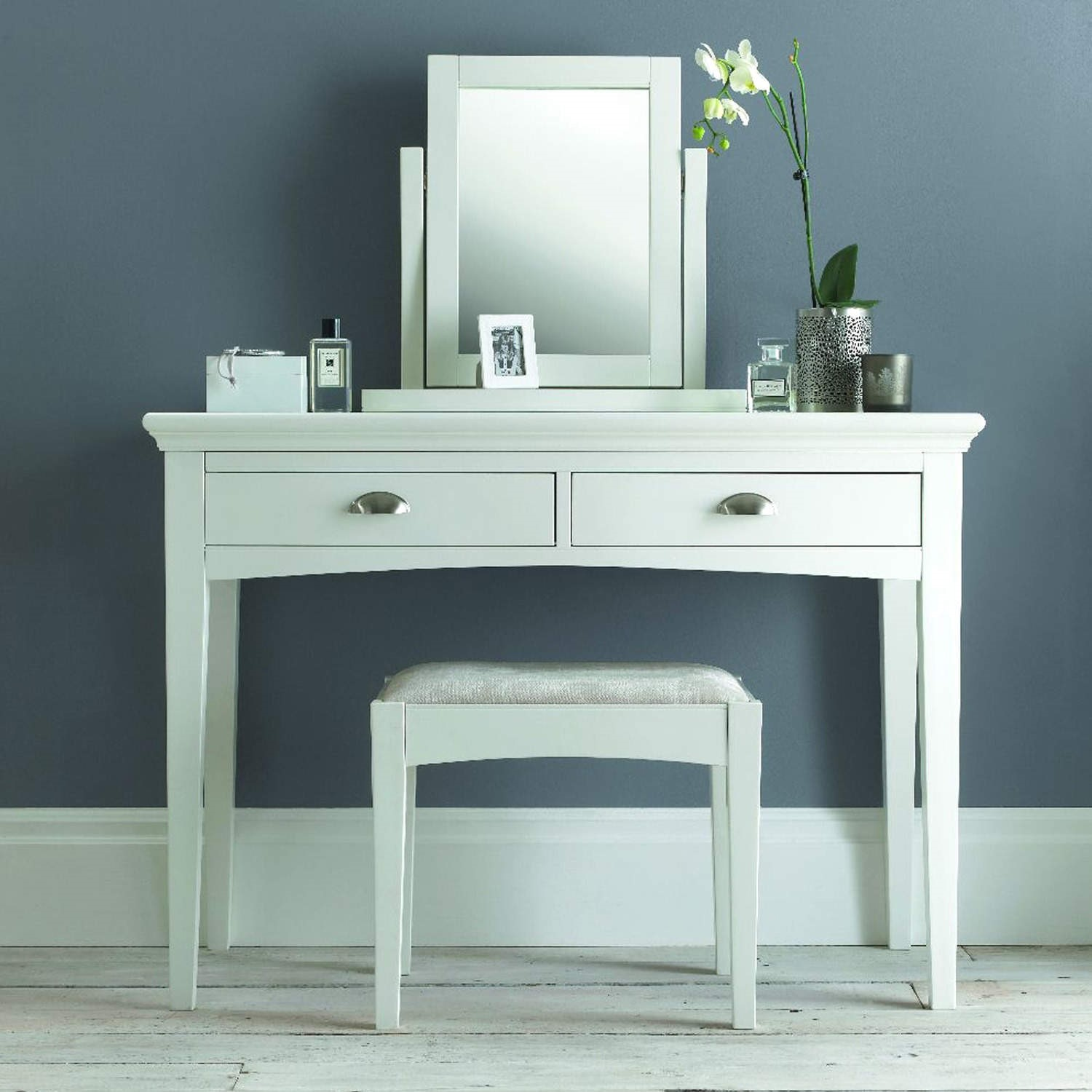 Superbe Bentley Designs Hampstead White Dressing Table
