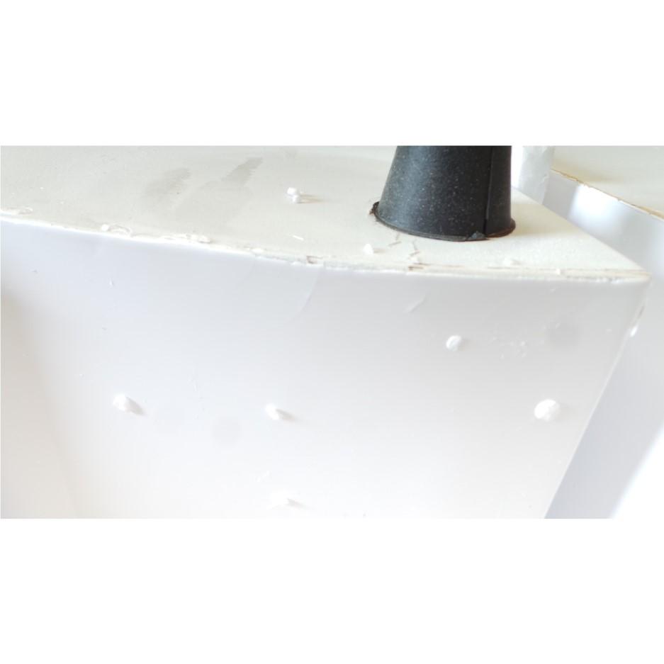 Grade A3 Seconique Charisma High Gloss Dining Set White