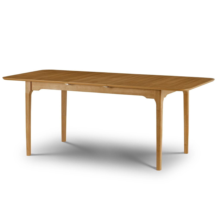 Julian Bowen Ibsen Extending Oak Dining Table