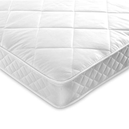 Diamond Platinum Luxury Quilted Double 4ft6 Coil Sprung Mattress
